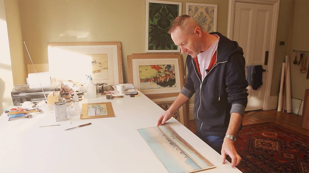 Cleaning Watercolour Paintings