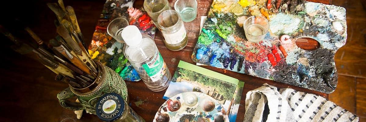 Restoring oil paintings - Fine Art Restoration Company