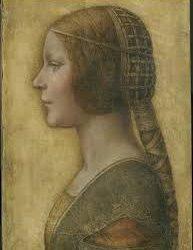 Side portrait of woman