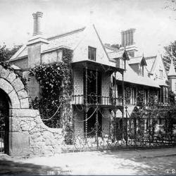 Marine etching house photograph