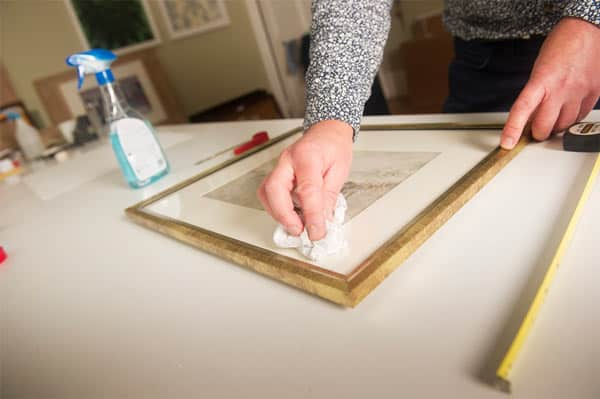 Mounting a Watercolour