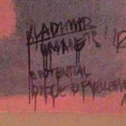 Vandalism on Rothco artwork