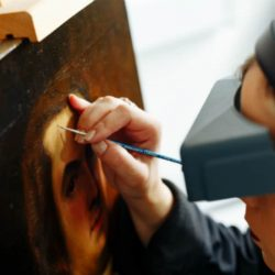 Fine Art Restoration Co. at Work
