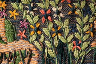 Textile Restoration - Fabric Embroidery