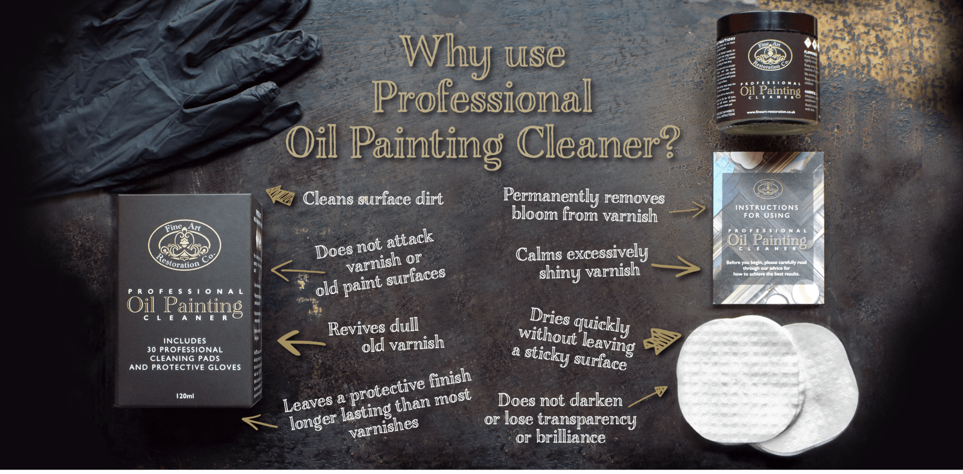 why use professional oil painting cleaner