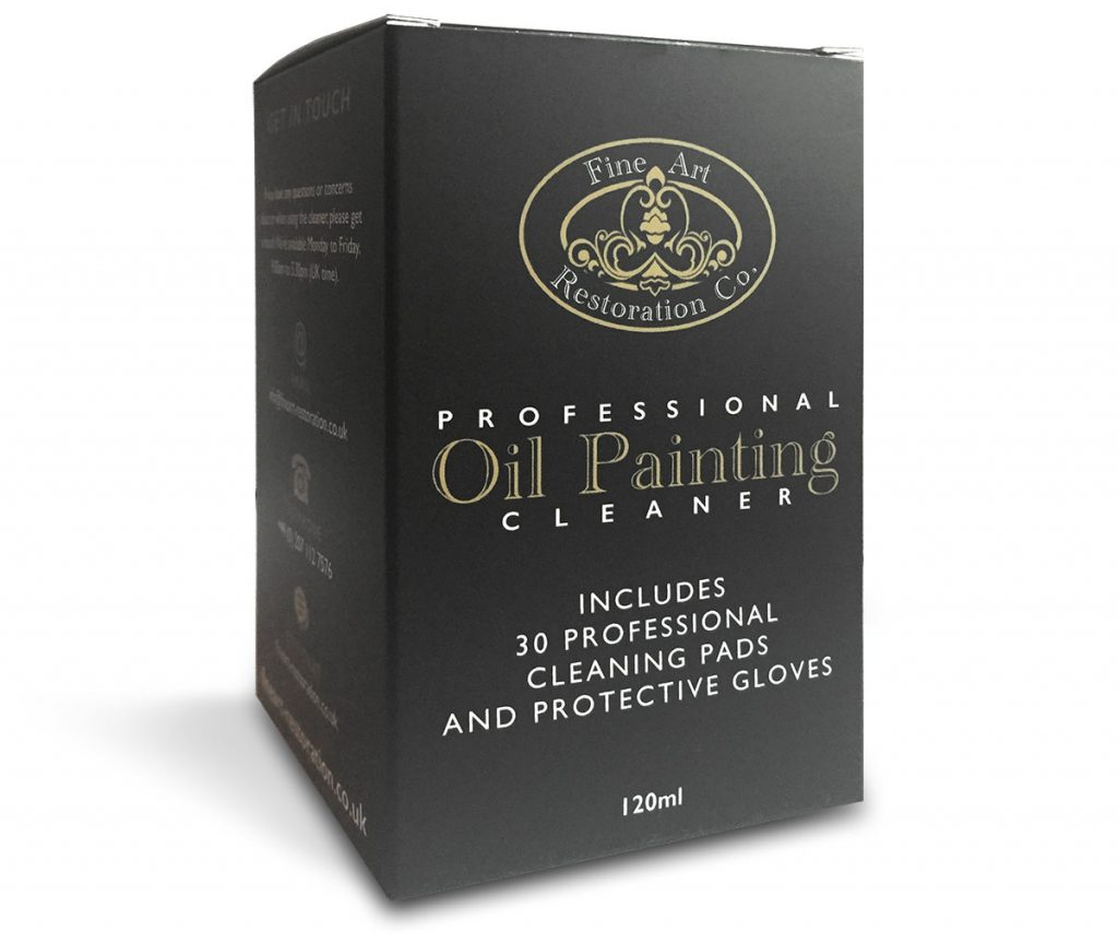 Professional Oil Painting Cleaner