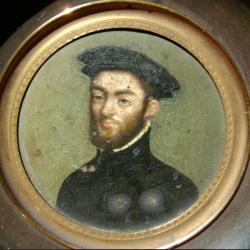 How to restore miniature portraits