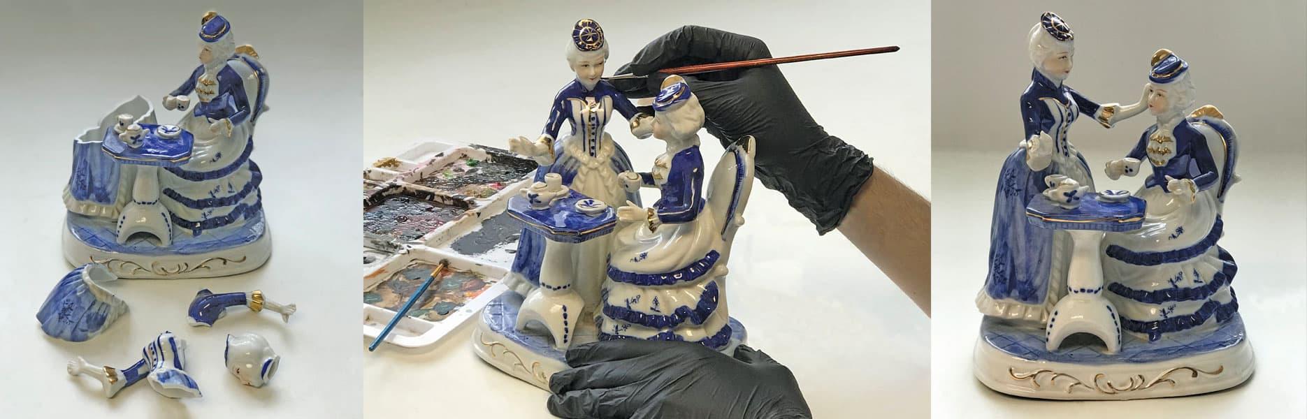 Figurine Repair - Before & After