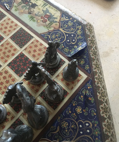 19th Century Chess Board Restoration