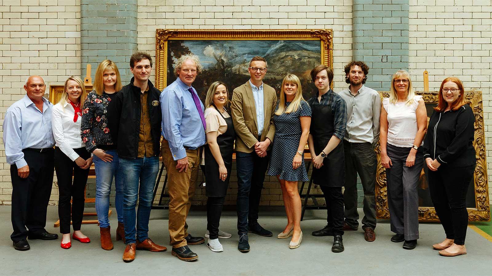 The Fine Art Restoration Company team