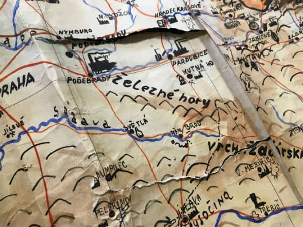 World War Two Map Restoration