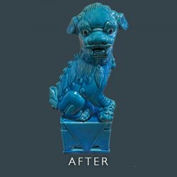 Dog Figurine Repair - After