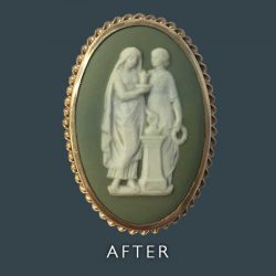 Ceramic Picture Restoration - After