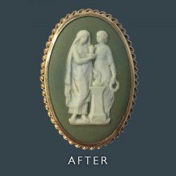 Ceramic Picture Restoration - After