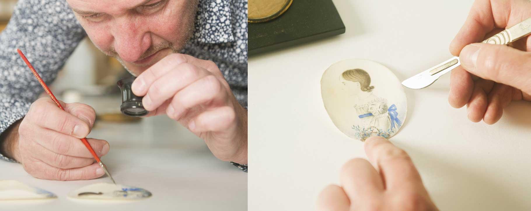 Miniature restoration