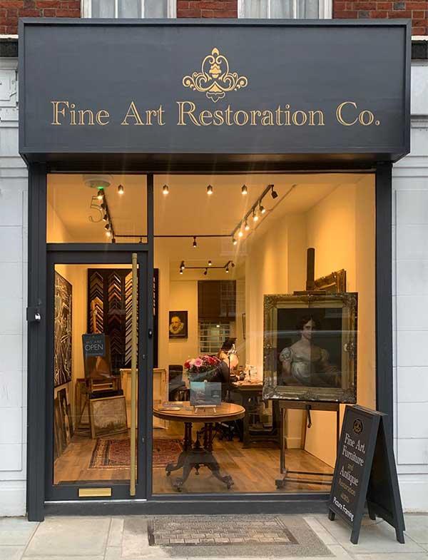 Fine Art Restoration Company London Belgravia office studio