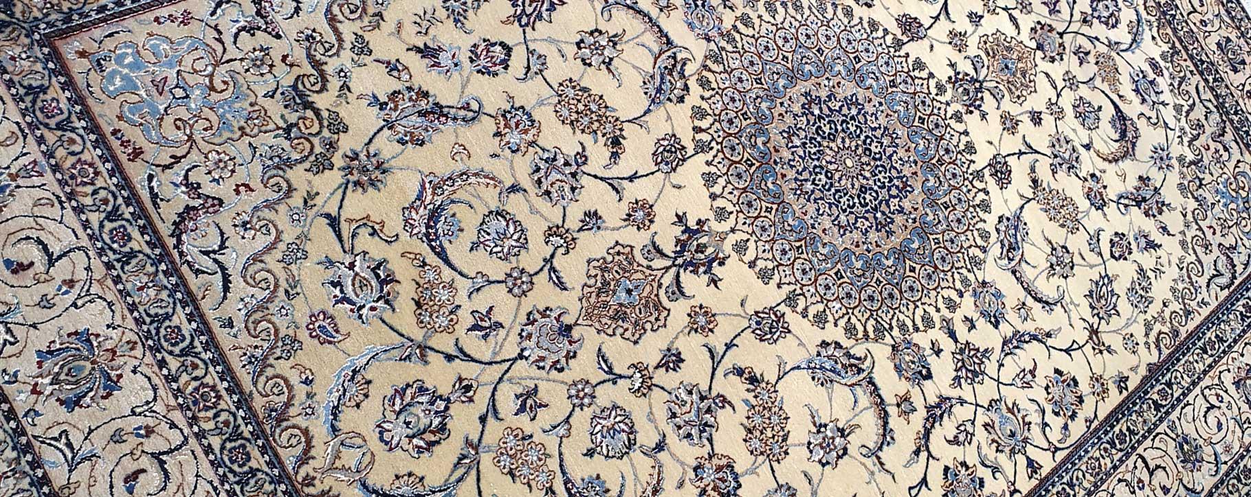persian rug after restoration