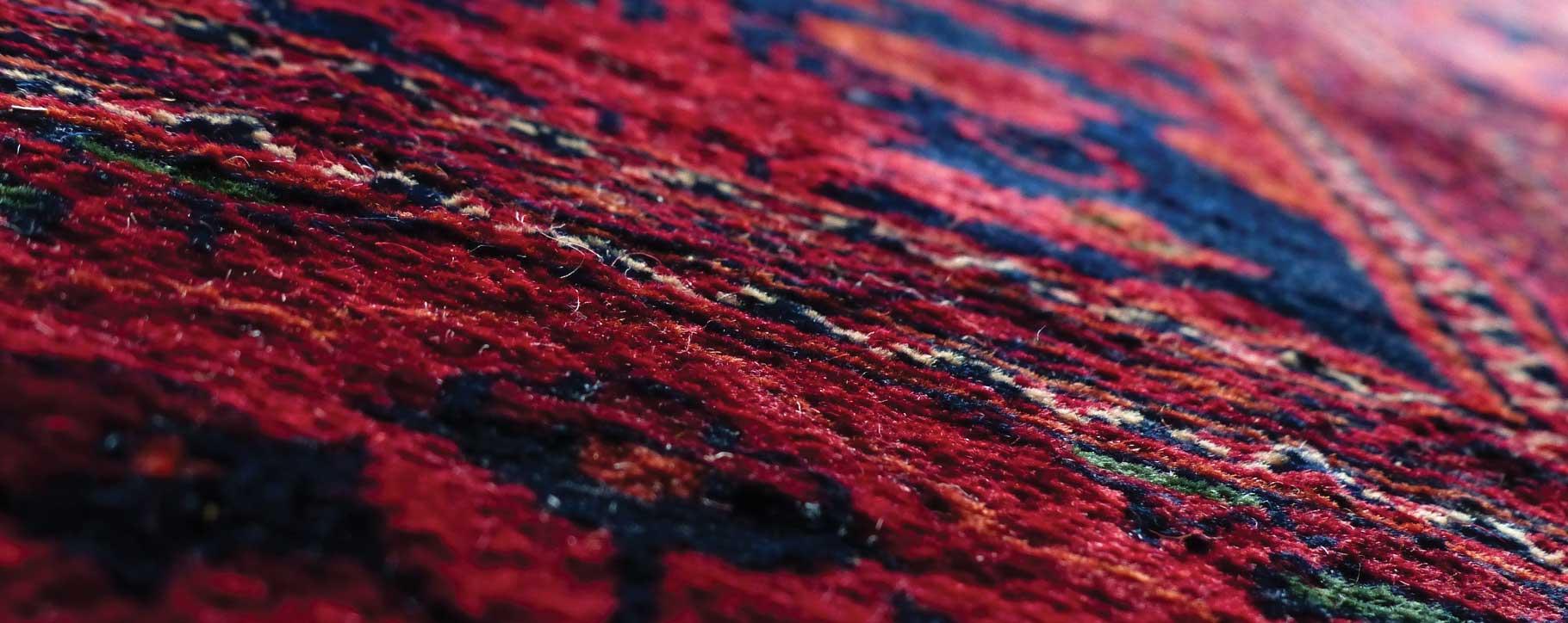 Red Persian Rug Repair