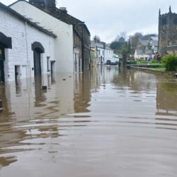 flooded road and houses featured image