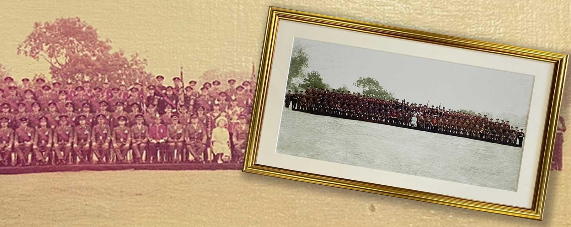 military photograph restoration
