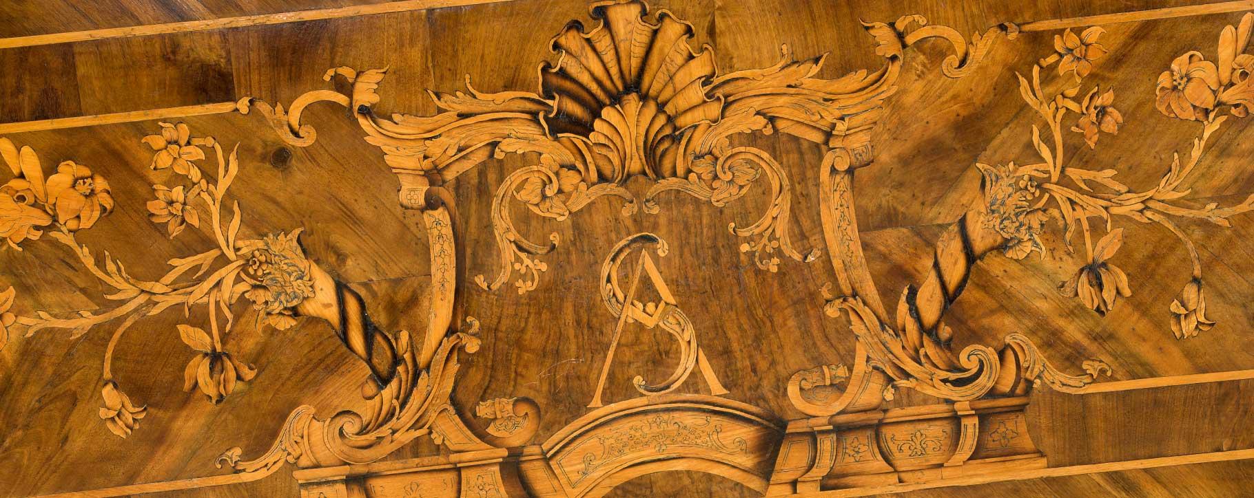 marquetry veneer wood restoration