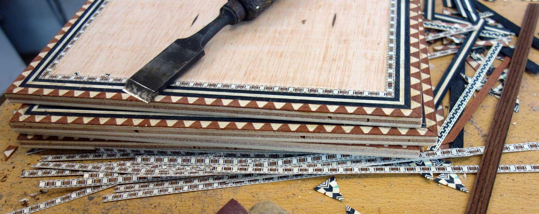 marquetry tools restoration
