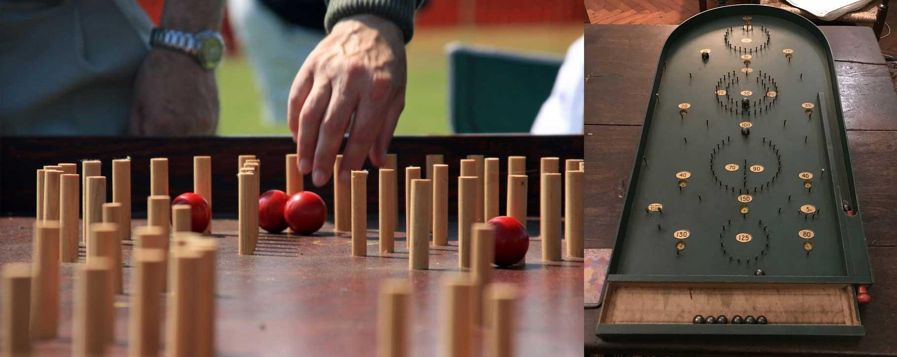 restoring wooden games bagatelle