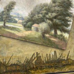 oil on panel restoration featured image
