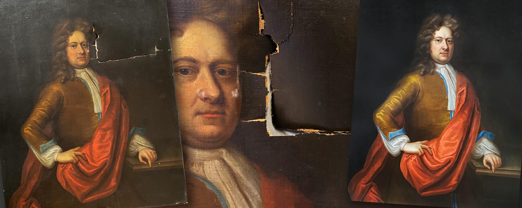 18th Century Tear Repair