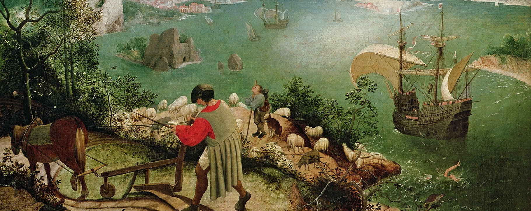 Bruegel Fall Of Icarus