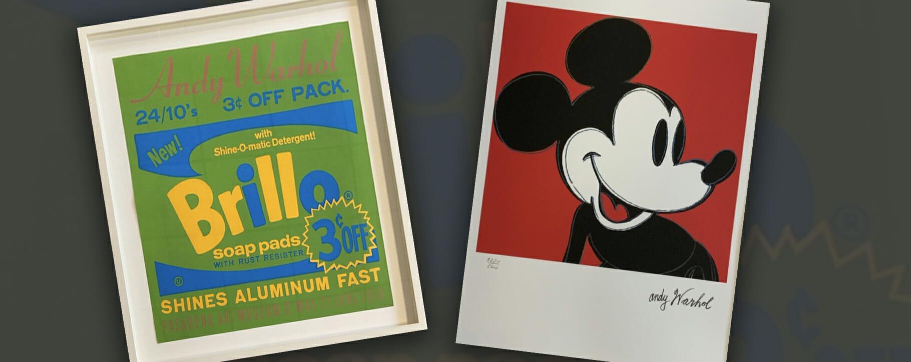 Warhol Brillo Mickey