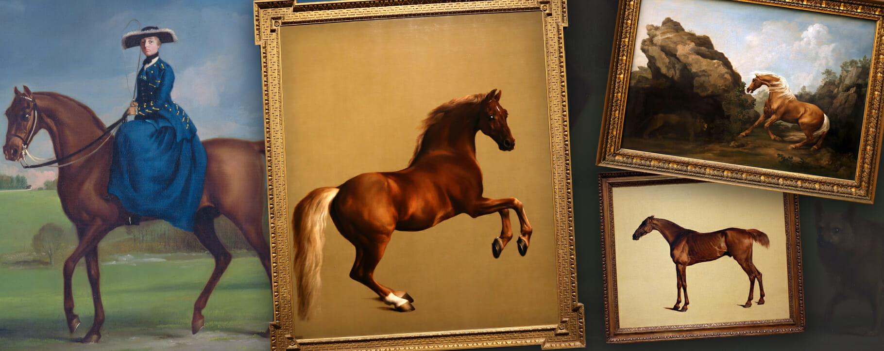 George Stubbs Horse Paintings