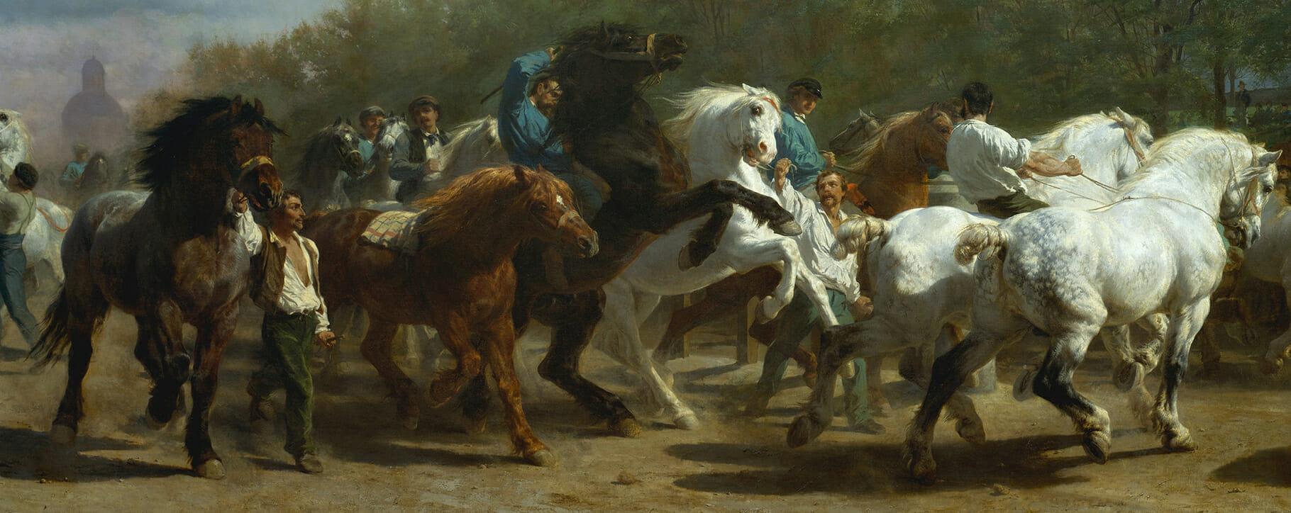 Horse Fair 19th Century