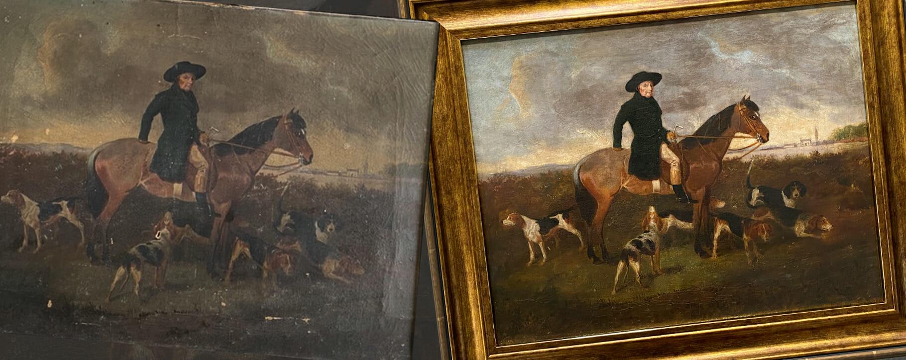 Hunting Horse Restoration