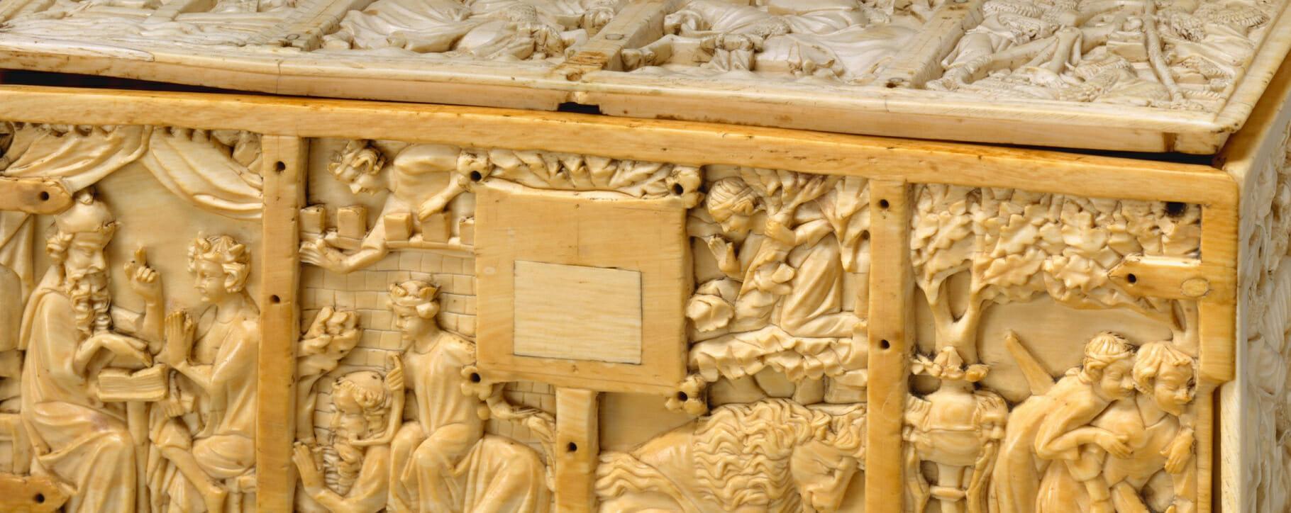 Ivory Casket Box