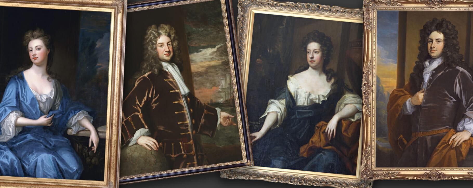 Godfrey Kneller Portraits