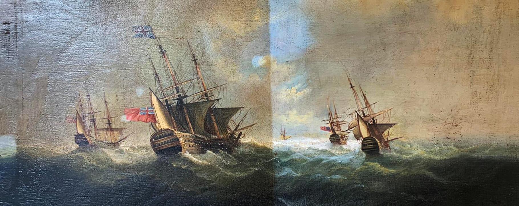 Nautical Art Restoration