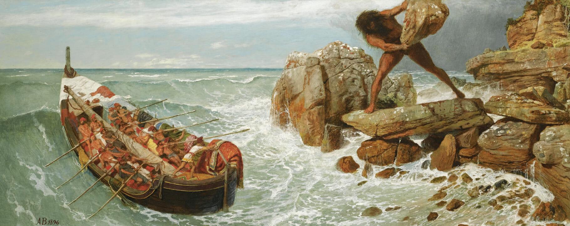 Classical Mythology Odyssey Painting
