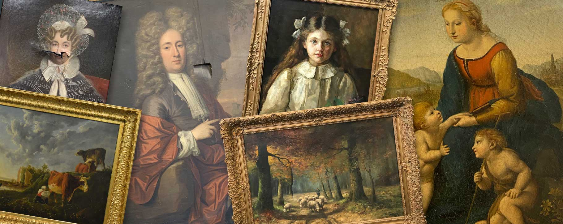 oil painting damage that can. be repaired