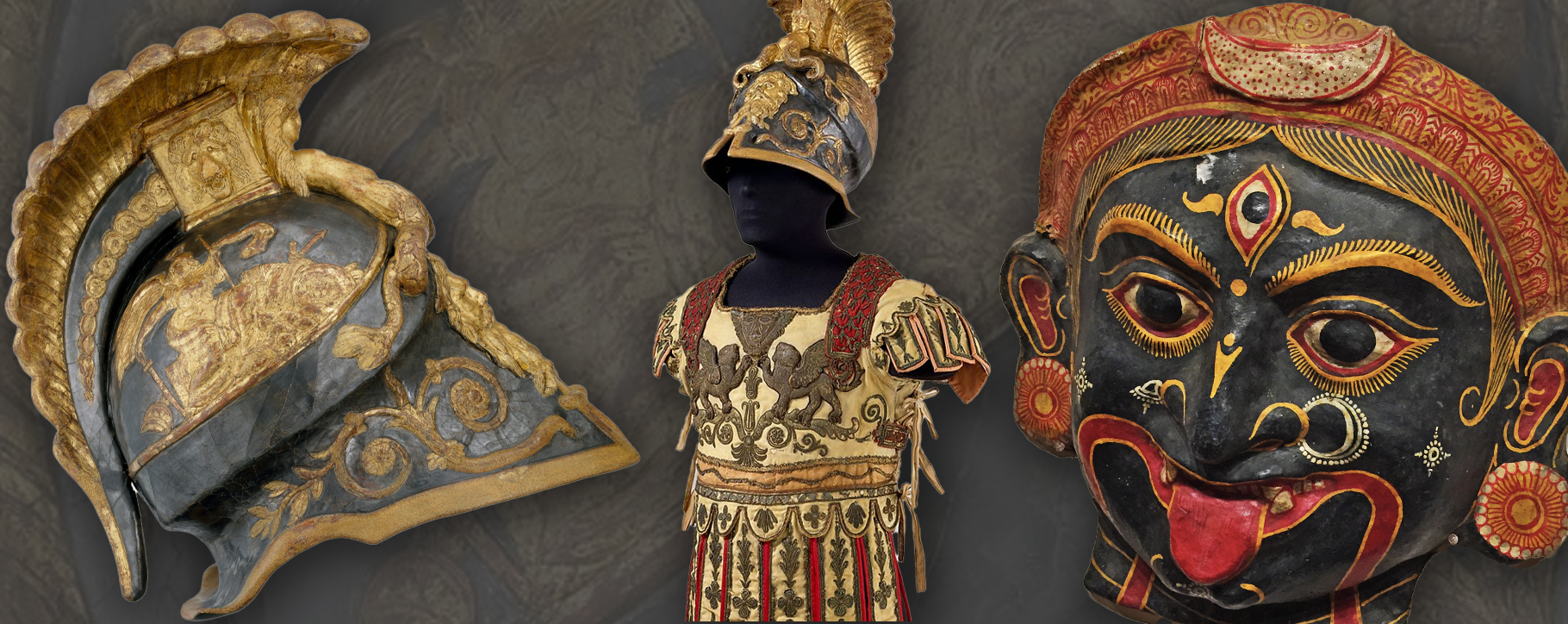 Papier Mache Mask Costume