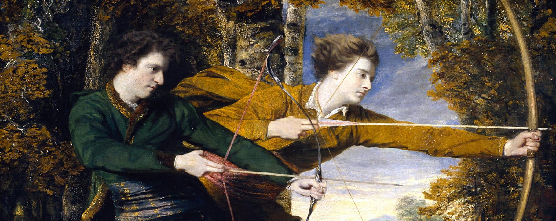 Joshua Reynolds Archers Portrait
