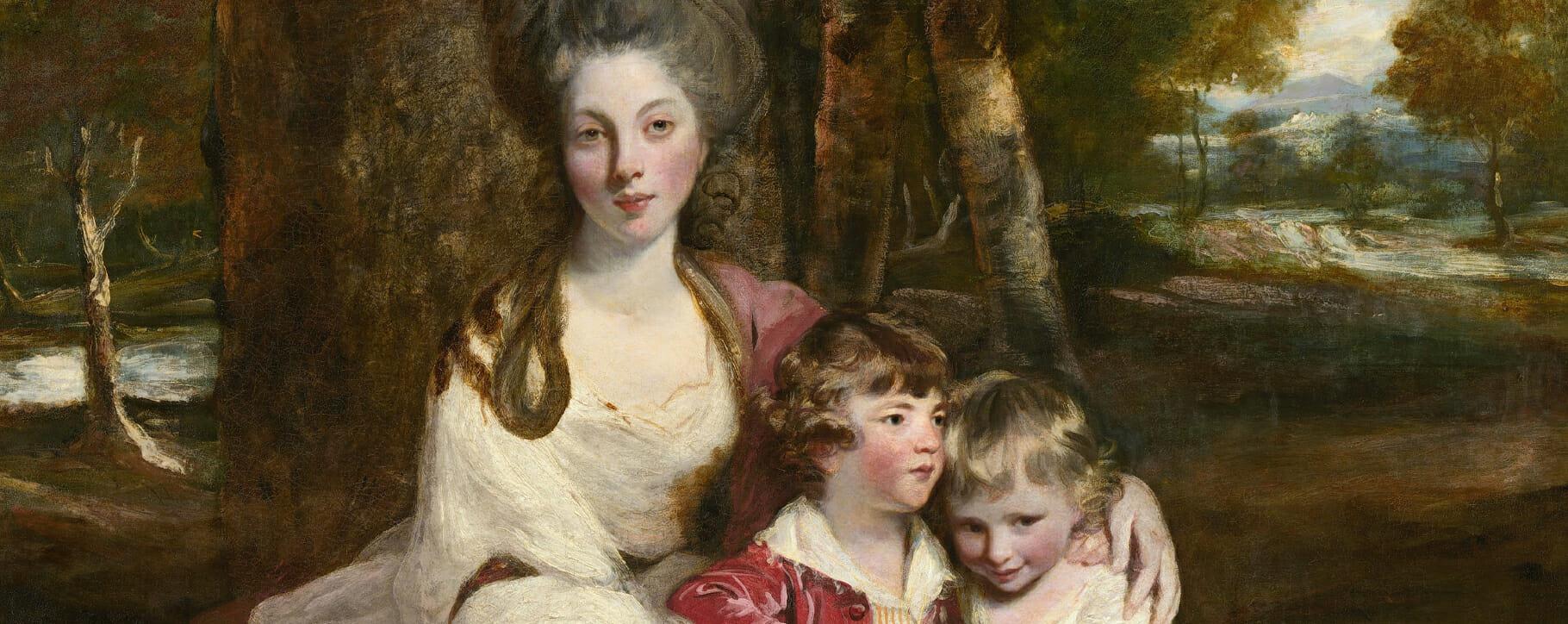 Lady Elizabeth Delme by Joshua Reynolds