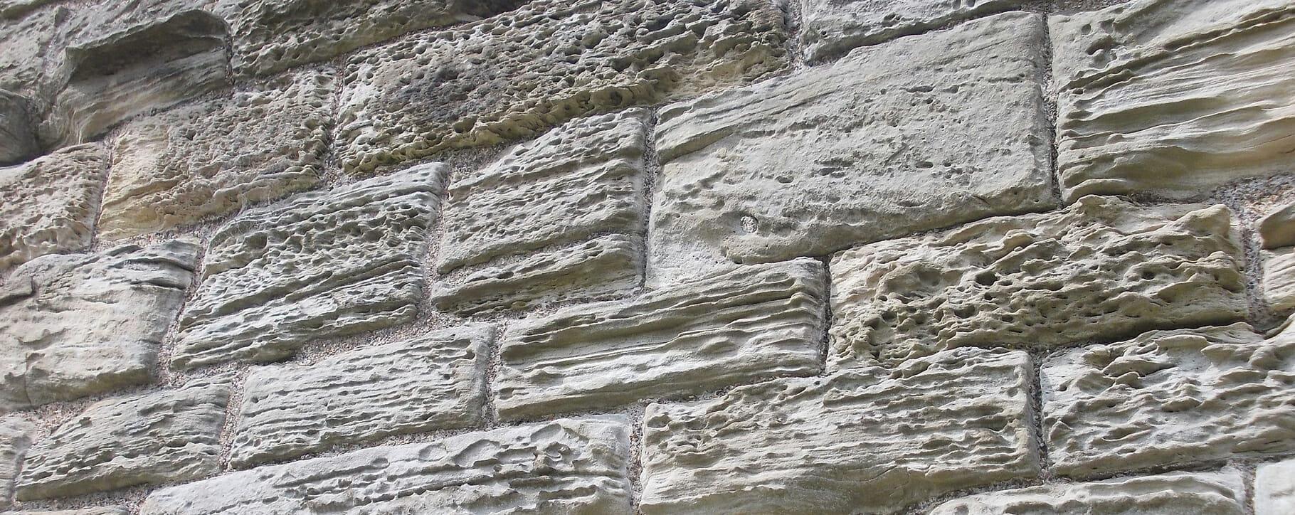 Salt Damaged Stone