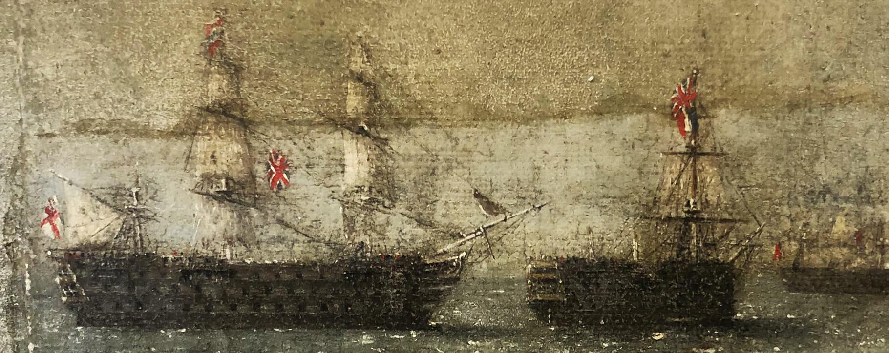 Smoke Damage Nautical Ships