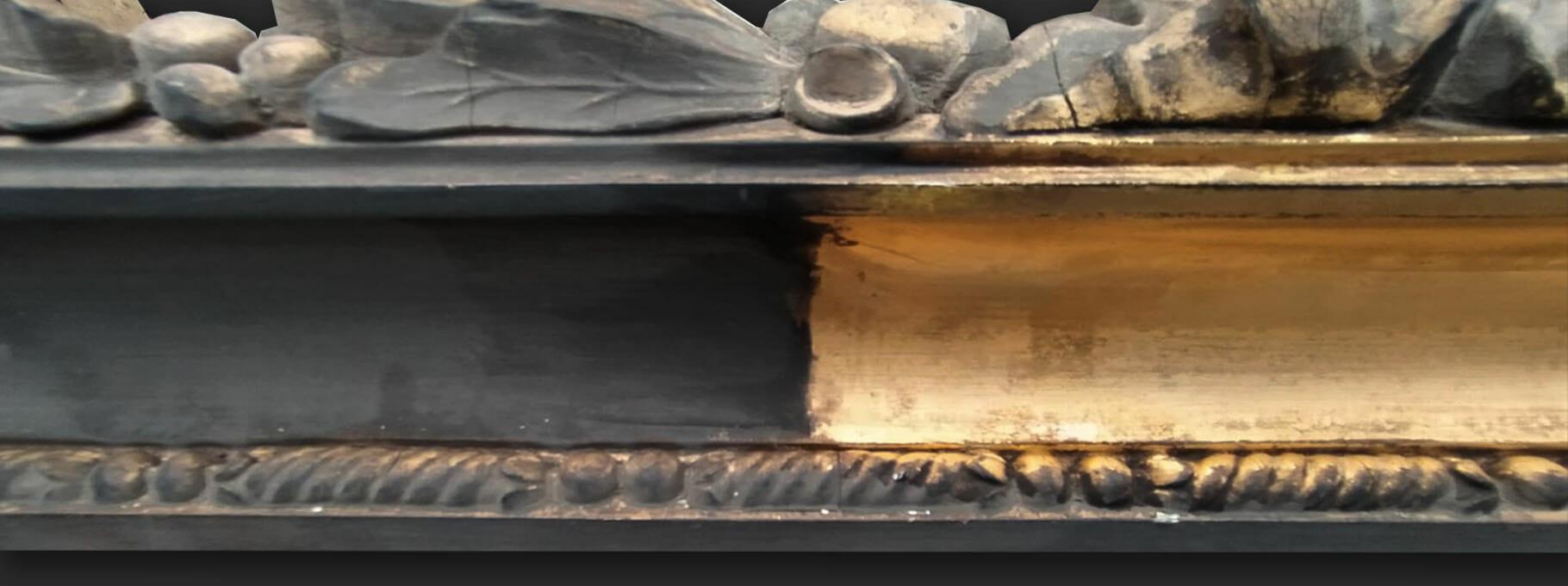 Smoke Damaged Frame Clean