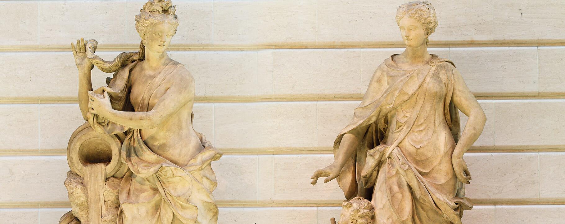 Stone Statue Goddesses
