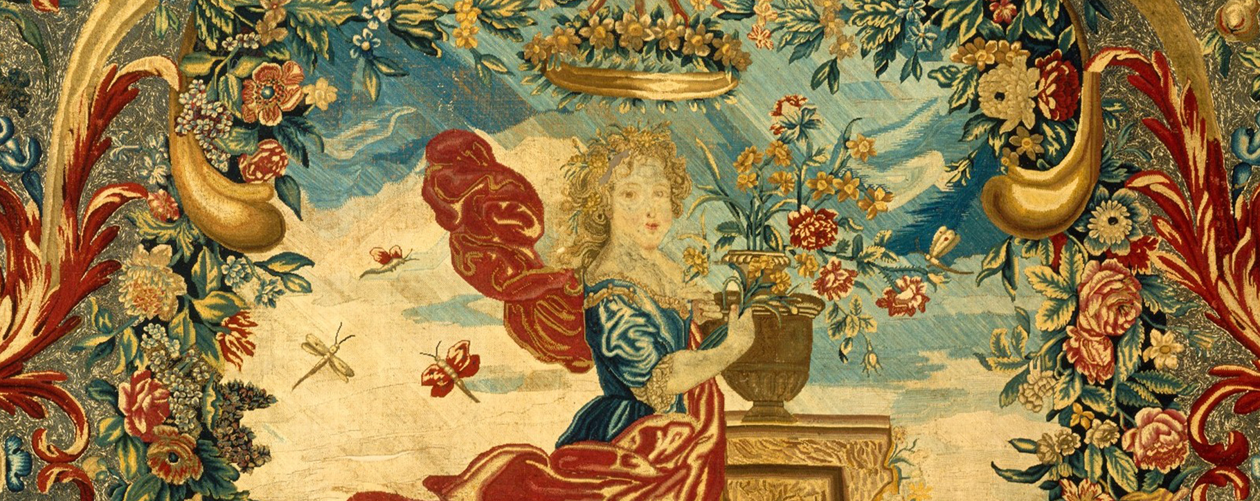 Tapestry Antique Panel