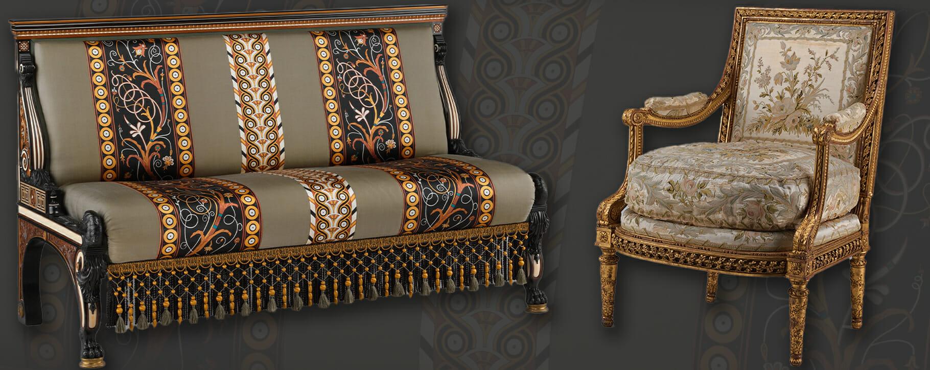Textile Furniture Examples