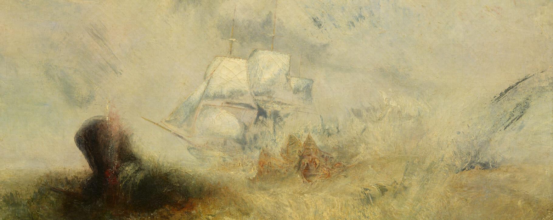 Turner Nautical Painting