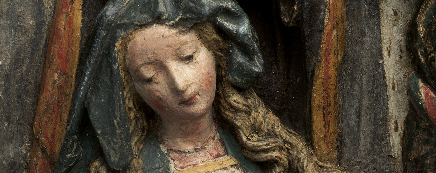 Papier Mache Virgin Mary